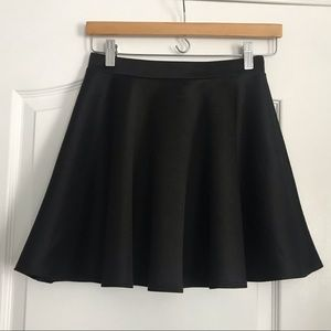 Frenchi black circle skirt, medium